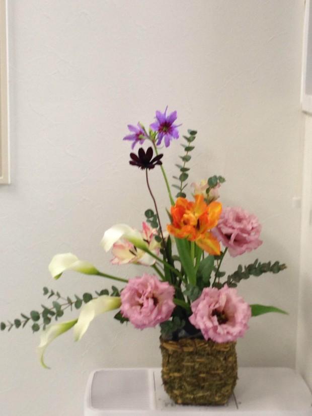 武蔵小杉 フラワーアレンジメント 花