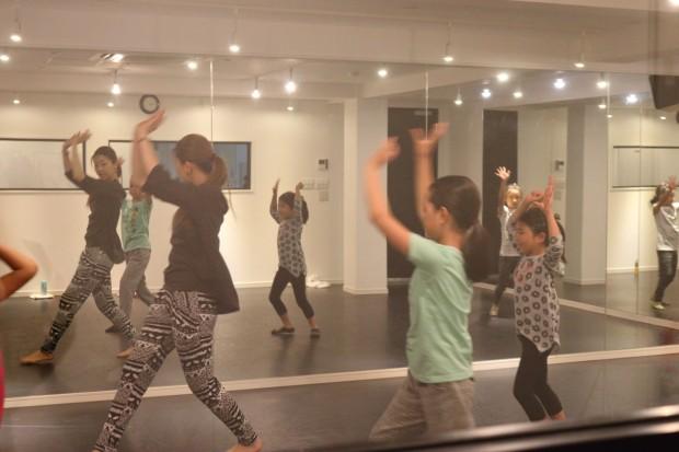 子供のダンス教室 レッスン風景