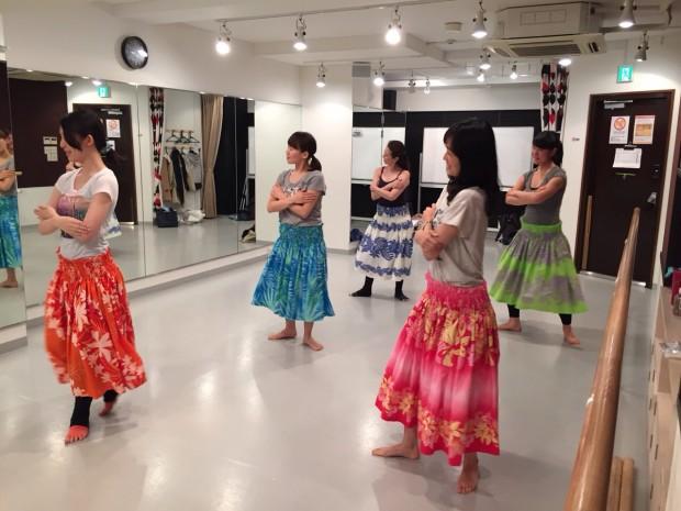 武蔵小杉 フラダンス教室の生徒