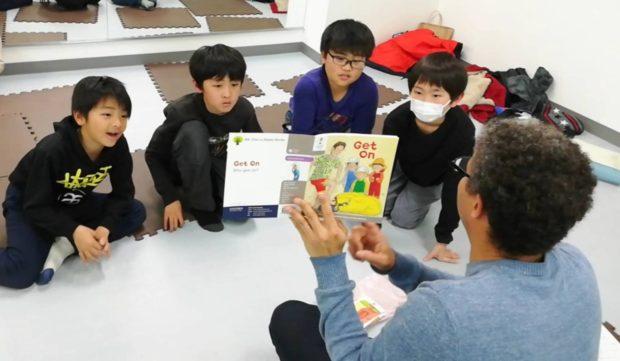 武蔵小杉の子ども英会話教室 レッスン風景
