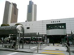 武蔵小杉駅 稽古場所
