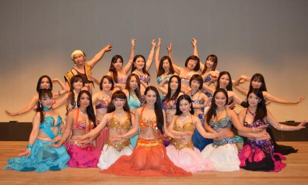 武蔵小杉のママさん向けベリーダンス 教室