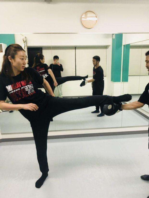 武蔵小杉のボクシング護身術